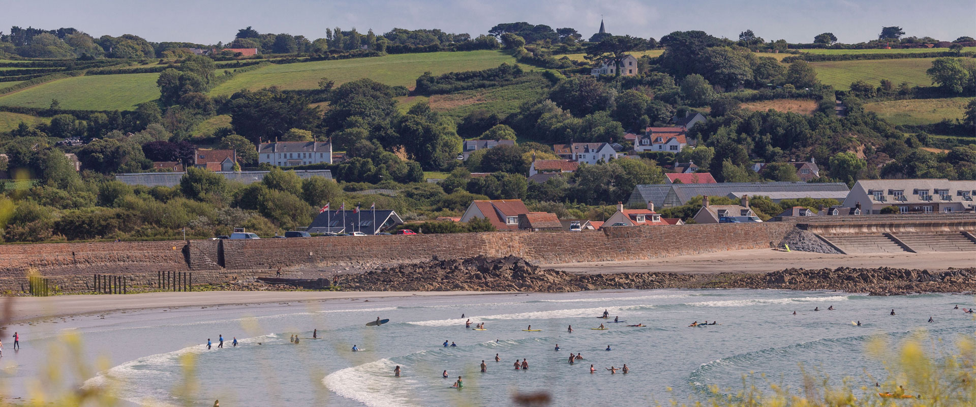 Vazon Bay - Images courtesy of VisitGuernsey